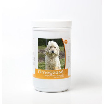 Healthy Breeds 840235143239 Goldendoodle Omega 3 & 6 Soft Chews - 120 count