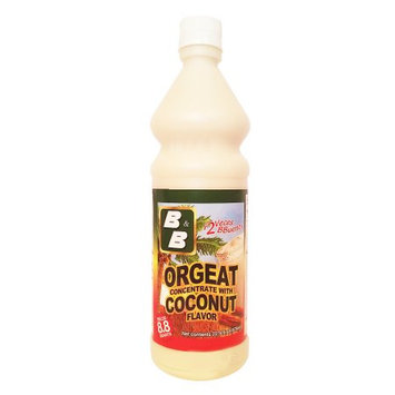 Byb B & B Orgeat with Coconut Concentrate 22.9 oz (Pack of 1)