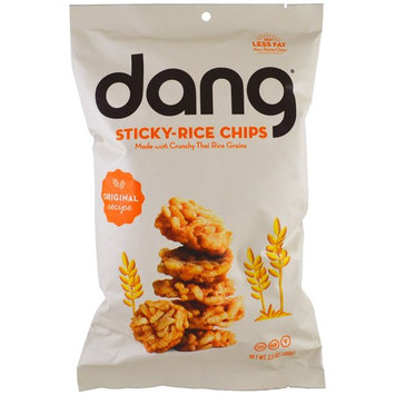 Dang Foods LLC, Sticky-Rice Chips, Original Recipe, 3.5 oz (100 g) [Flavor : Original]