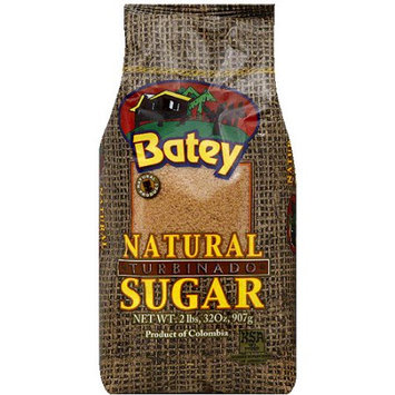 Batey Natural Turbinado Sugar, 2 lbs, (Pack of 18)