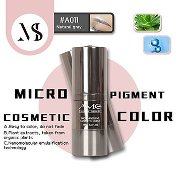 Semi-permanent Makeup Pigment Microblading Tattoo Ink For Eyebrows Beauty Natural Grey