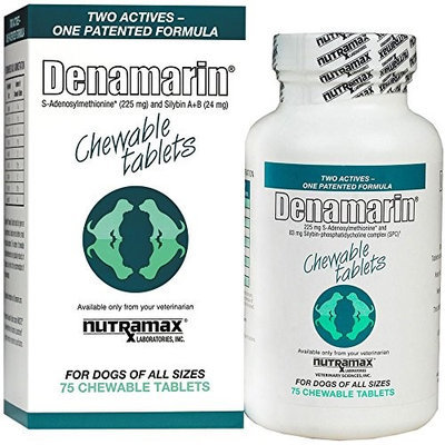 Nutramax Denamarin Chewable Tablets for Dogs 150ct (2 x 75ct)