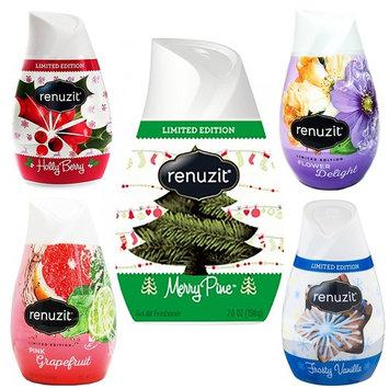 5 x Renuzit Simply Refreshed Collection Gel Air Freshener Christmas Fragrances 7 OZ (Autumn Glow)