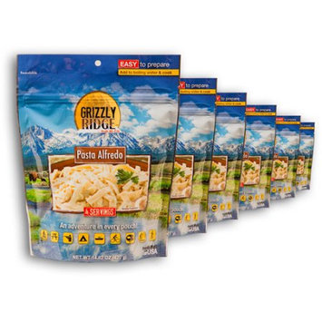 Grizzly Ridge Pasta Alfredo, 14.82 oz, (Pack of 6)
