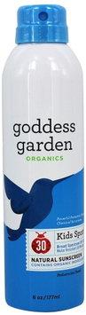 Goddess Garden - Kids Sport Natural Sunscreen 30 SPF - 6 oz.(pack of 4)