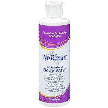 No Rinse Moisturizing Body Wash 8 fl oz (pack of 6)
