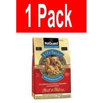 Petguard Lifespan Dry Dog Food Chicken Chicken 4 Lb