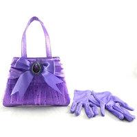 Disney Jr. Sofia the First Handbag and Gloves Set