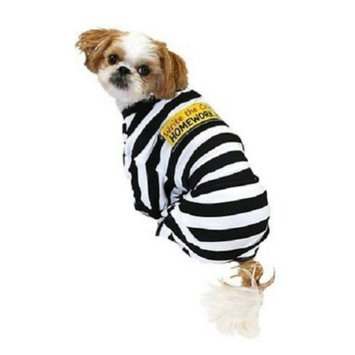 Target Homework Eater Dog Prisoner Costume Write the Crime Pet Pajamas