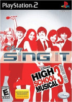 Sony Disney Sing It: High School Musical 3 - Senior Year (PlayStation 2) Brand New And Sealed!
