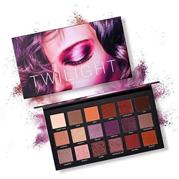 OVERMAL Glitter Eye Shadow Powder Palette Matt Eyeshadow Cosmetic Makeup 18 Color Pearl