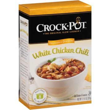 Conifer Specialties, Inc Crock-Pot Delicious Dinners White Chicken Chili Mix, 12.87 oz