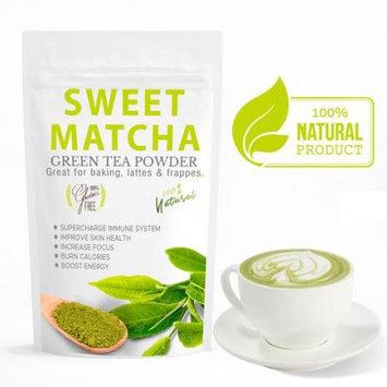 Wmbr Corp Sweet Matcha 3 (16oz) Gluten Free, Non GMO Made with USDA Organic Green Tea Matcha Powder