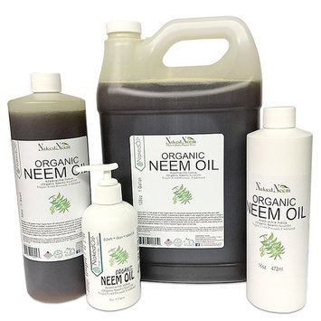 Organic Neem Oil (8 oz), 100% Pure Cold Press, Unrefined- 6 Sizes, Best Prices (NEW LOOK)