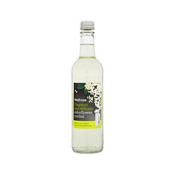 Elderflower Cordial Waitrose 500ml (Pack of 2)