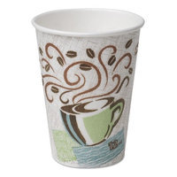DIXIE 92959 Insulated Disp. Hot Cup,10oz, Wht, PK1000