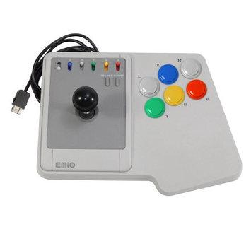 Interworks Emio The Edge Super Joystick for SNES Classic, NES Classic, Wii U, PC White