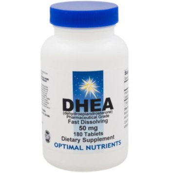 DHEA 50 MG (180 Sublingual Tablets) by Optimal Nutrients at the Vitamin Shoppe
