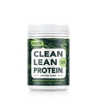 Nuzest Clean Lean Protein Functional - Premium Pea Protein Powder, Plant-based, Vegan, Dairy Free, Gluten Free, GMO Free, Naturally Sweetened, Vanilla Matcha, 9 servings, 7.9 oz [Vanilla Matcha]