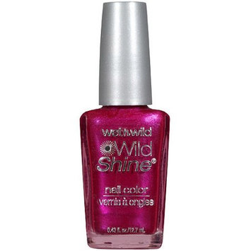 Wet 'n' Wild Wet n Wild Wild Shine Nail Color, Frosted Fuchsia 426A, .43 fl oz