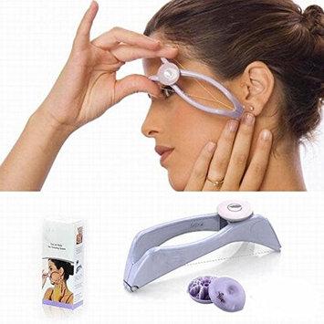 Facial Hair Remover Kit Lightweight Women Eyebrow Threading Epilator Makeup Beauty Tools Hair Manual Remover for Girls Ladies