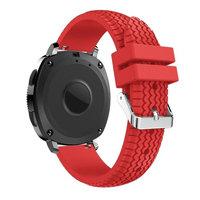 AutumnFall Fashion Sports Soft Silicone Bracelet Strap Band For Samsung Gear Sport 2#