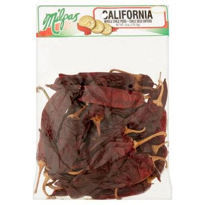 Milpas Foods Milpas California Whole Chile Pods, 6 oz