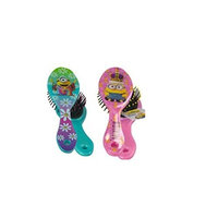 Minions Hair Brush x 2 (1 Blue 1 Pink) by Despicable Me
