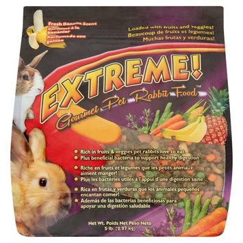 Extreme! Fresh Banana Scent Gourmet Pet Rabbit Food, 5 lb