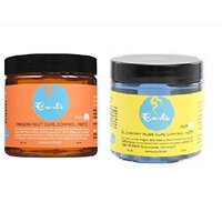 Curl's Passion Fruit & Blueberry Bliss Curl Control Paste 4 Fl. Oz (COMBO!) by CURLS