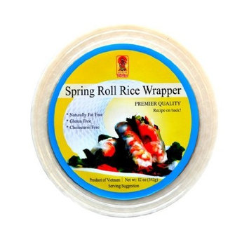 Fortuna Spring Roll Rice Paper Wrapper Original, 12-Ounce