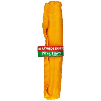 Rawhide Express Rawhide Pizza Flavored Knotted Bone (9-10 roll/stick)