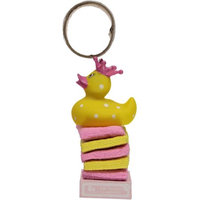 Baby Girl Rubber Duck with Washcloth Set, Pink