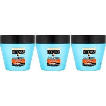 Daily Defense Deep Damage Conditioner / Argan Oil / Sulfate Free 5 fl. oz. ea. / 3-min. Leave in Conditioner (Pack of 3)
