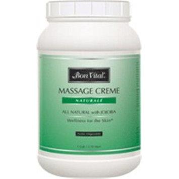 Bon Vital Naturale Massage Creme 1 gal Jar