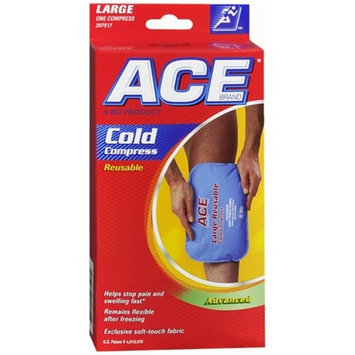 ACE Reusable Cold Compress, Large, Money Back Satisfaction Guarantee [Large]