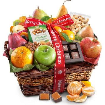 Golden State Fruit Christmas Orchard Delight Fruit & Gourmet Gift Basket