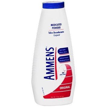 Ammens Medicated Deodorant Powder, Original 11 oz (pack of 2)
