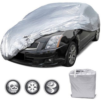 Bdk Motor Trend All Season WeatherWear 1-Poly Layer Snowproof, Water-Resistant Car Cover