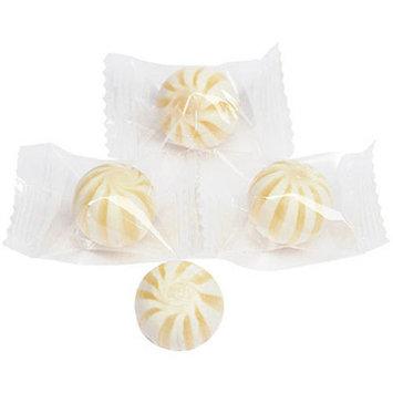 Sassy Spheres Petite White Striped Pineapple Candy Balls, 5 lb