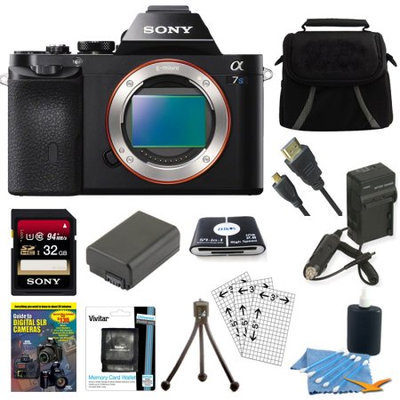 Sony Alpha A7S 12MP Mirrorless Digital Camera Body