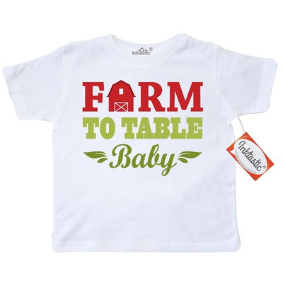 Farm To Table Baby Toddler T-Shirt [baby_clothing_size: baby_clothing_size-4t]