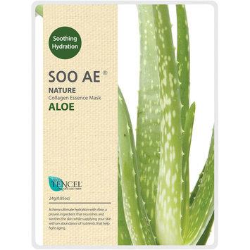 Soo Ae Nature Aloe Collagen Essence Mask, 0.85 oz
