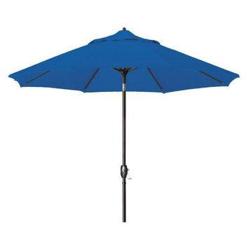 Lauren & Company 9-ft Round Pacific Blue Patio Umbrella with Tilt-and-Crank LCATA-PACZ