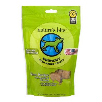Nature's Bits Dog Treats 6oz-Bison Crunchy