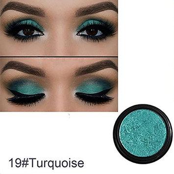 Single Color Glitter Shimmering Eyeshadow Eye Shadow Makeup Cosmetic Beauty Tool size 22g (Turquoise)