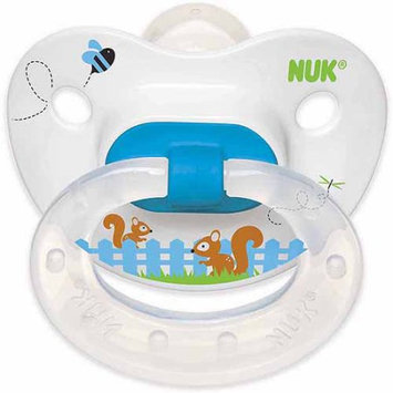 Nuk Usa, Llc NUK Spring Squirrels Pacifier, 6-18 Months, 2-Pack, Silicone, Boy Designs