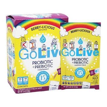 GOLIVE 276316 Probiotic Frt Pch 10Ct Box