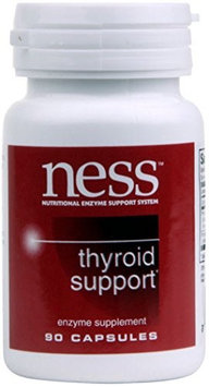 Ness Enzyme's Thyroid Support 90 caps by Ness Enzymes