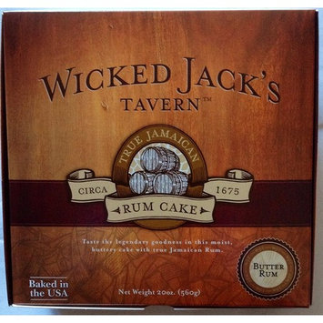 Wicked Jack's Tavern Jamaican Rum Cake (Butter Rum, 20 Ounce)